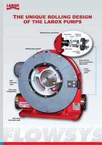 The Unique Rolling Design of the Larox Pumps