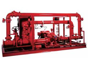 Tigerflow Packaged Fire Pumping System - Skid Mounted